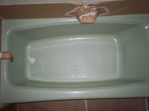 tub masked for priming