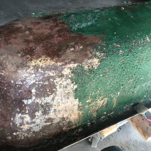chemically strip old finish