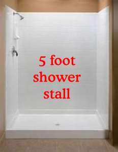 Shower Stall 5 Foot